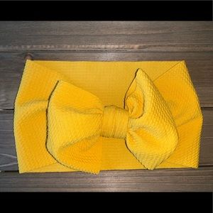 Other - Baby Head Wrap - Mustard Yellow